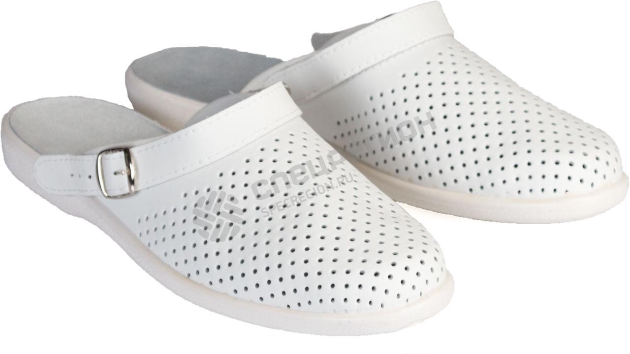 09a866b61 Туфли Сабо Павел мужские белые — купить по низкой цене в г. Екатеринбурге в  Интернет-магазине «Спецрегион»